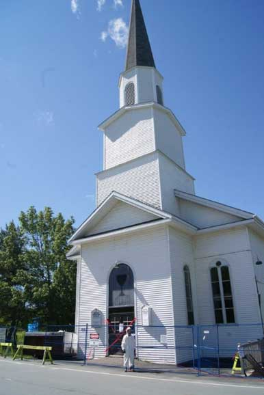 Milton Christian Church, NS - Asbestos Removal by Jaspro Environmental Services